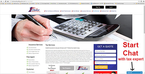 taxes online system
